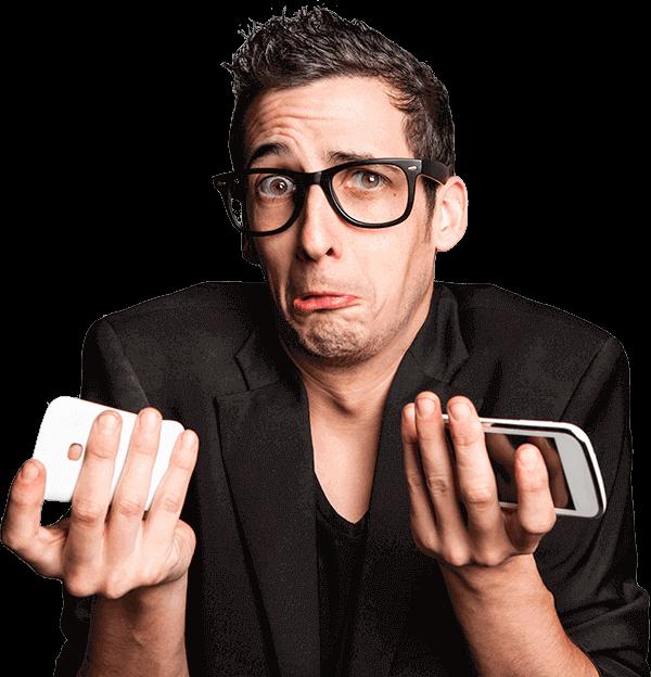 iPhone, Smartphone kapot!