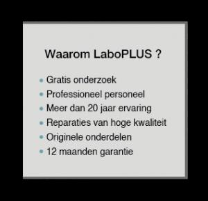 iPhone, iPad, Macbook herstellen | LaboPLUS - 12 manden garantie